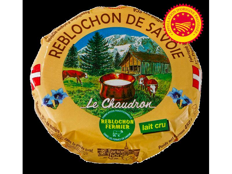 Reblochon fermier AOP (Savoie)